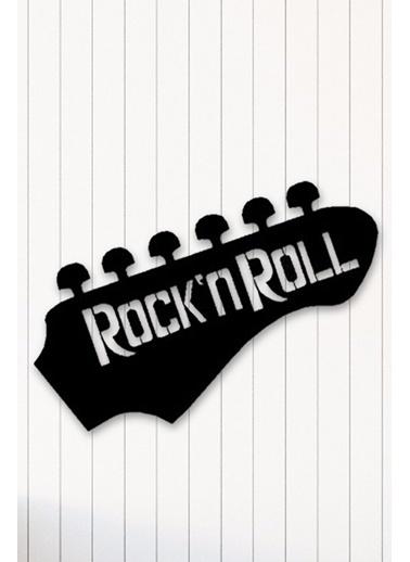 Angemiel Home Rock n Roll Metal Duvar Tablosu Siyah